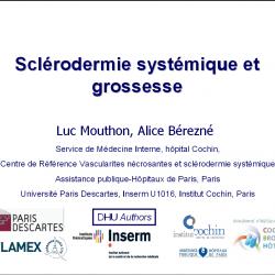 Grossesse et sclerodermie