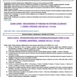 Programme journée sclerodermie du GFRS