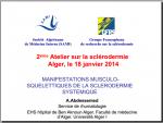 Manifestations musculosquelettiques de la sclérodermie. A.Abdessemad
