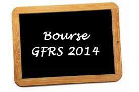 Bourse GFRS 2014