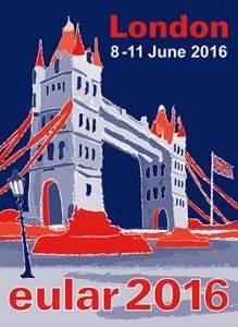 EULAR 2016: Londres @ Londres | Angleterre | Royaume-Uni