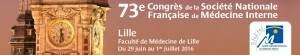 73è congrès de la Société Nationale Française de Médecine Interne @ Lille | France