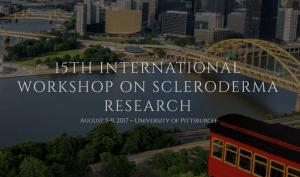 15è workshop international sur la recherche dans la sclérodermie: Pittsburgh