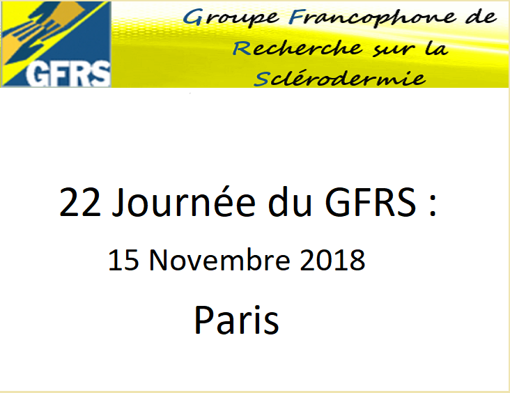 22eme journée du GFRS