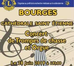 BOURGES: Concert de trompes de chasse et Orgue @ Cathedrale st Etienne