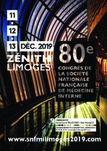 80è Congrès de la Société Nationale Française de Médecine Interne @ Limoges